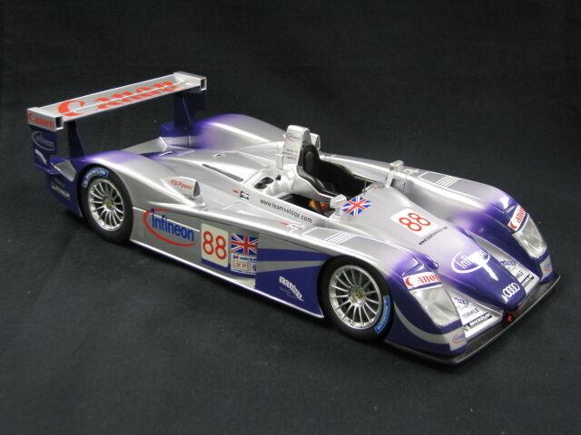 Spark Audi R8 2004 Davies   Herbert   Smith 24h Le Mans (MCC)