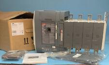 Abb Oxa600u3s2qb Automatic Transfer Switch Truone Ats 200 480v 600a 4p New
