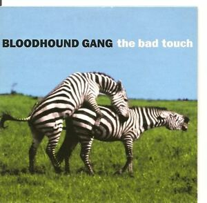 BLOODHOUND-GANG-The-Bad-Touch-Along-Comes-Mary-2TR-CARDslv-CD
