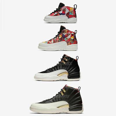 edb22479b0b Nike Air Jordan 12 Retro CNY XII 2019 Chinese New Year Men Women Kids TD  Pick