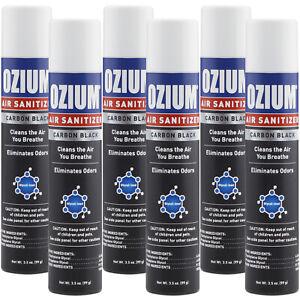 Ozium-Air-Cleans-3-5-oz-Ozium-Spray-Carbon-Black-6-PACK