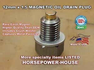 US-MADE 12mm MAGNETIC OIL DRAIN PLUG @ 2018 2019