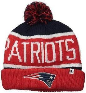 d403a803711138 New England Patriots 47 Brand Calgary Cuff Knit Hat 673106621099 | eBay