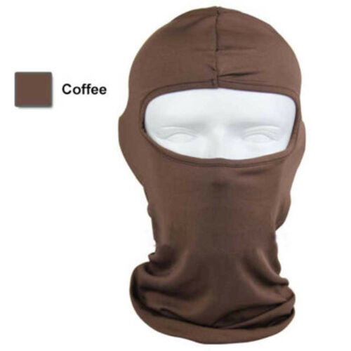 Full Face Mask lycra Balaclava Ultra-thin Outdoor Cycling Ski Neck Protecting gt