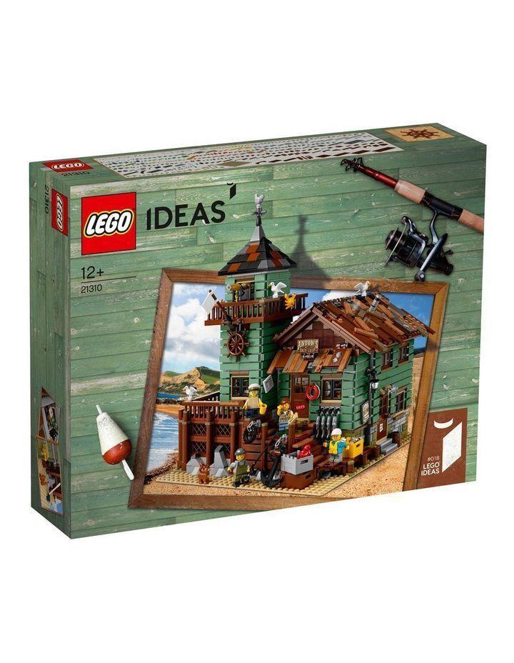 LEGO Ideas (21310) Old  Fishing Store (Brand nouveau & Factory Sealed) Retirouge Set  chaud