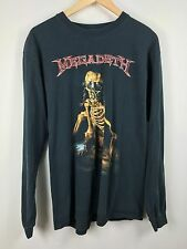 Megadeth vintage L/S faded the world needs a hero tour 2001/2002 sz. Large