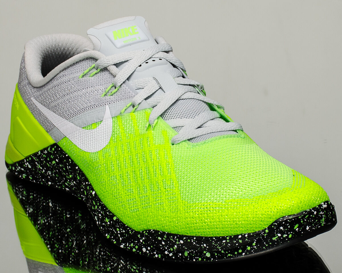 Nike Metcon 3 III men training train gym shoes NEW volt 852928-006