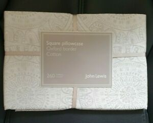 John Lewis Square Oxford Pillowcase 100