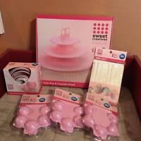 Proctor & Gamble Cake Pop And Cupcake Set Pink