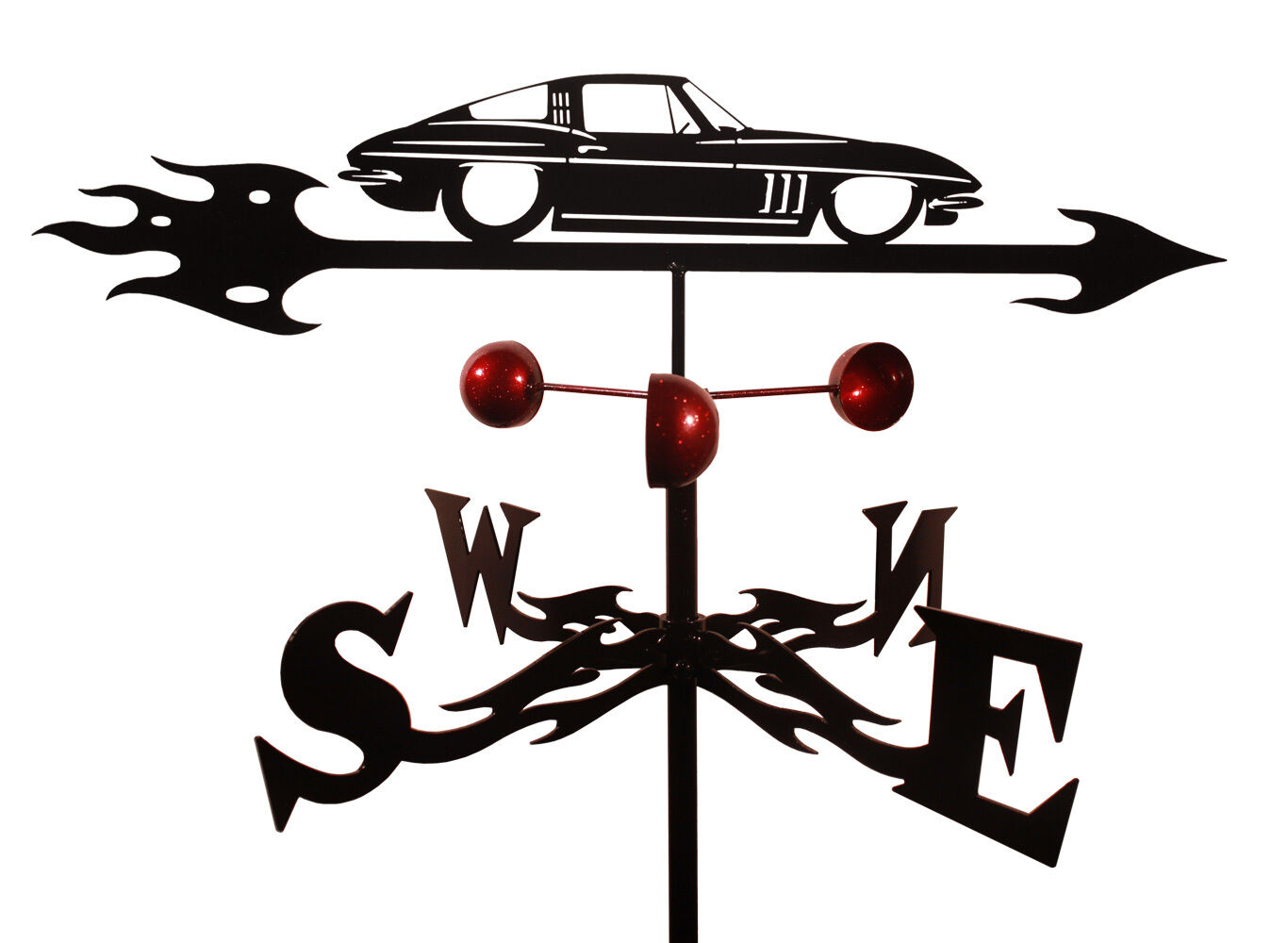 Vette Weathervane (Roof Mounting Included)