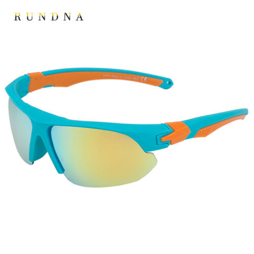 Men Outdoor Sports Cycling Bike Polarized Sunglasses Running Mirrored Eyewear 2