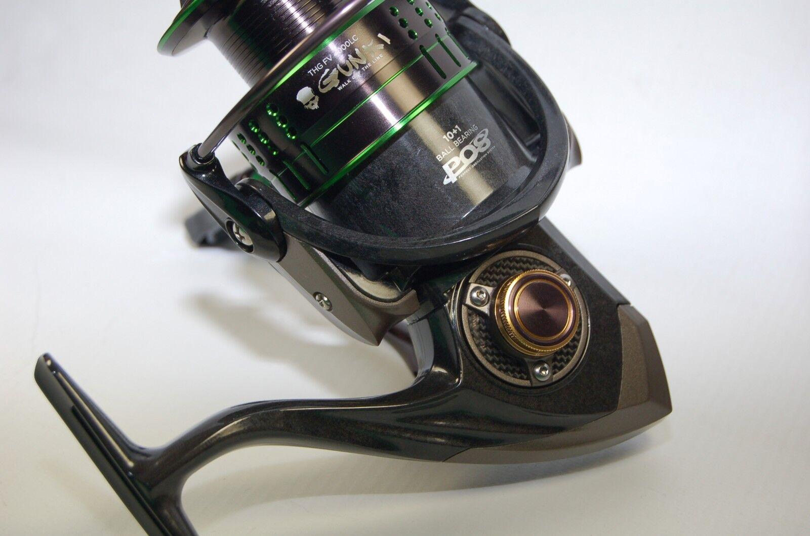 Gunki THG FV 4000LC 4000LC 4000LC Angelrolle Stationärrolle Spinnrolle Spinnfischen Kopfbremse c7f993