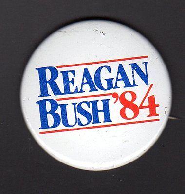 President Reagan Bush /'84 Original Classic Campaign Button