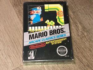 Mario Bros. Arcade Nintendo Nes *Box Only* No Game Good Condition Authentic
