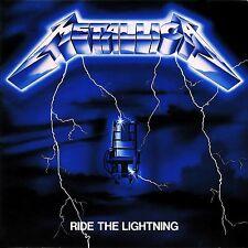 Metallica - Ride The Lightning Vinyl LP Heavy Metal Sticker Or Magnet