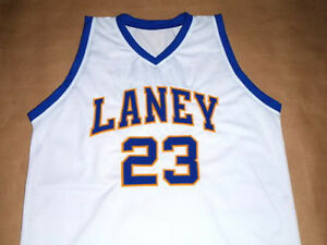 7c40ee8144f4 Image is loading MICHAEL-JORDAN-LANEY-HIGH-SCHOOL-BASKETBALL-JERSEY-NEW-