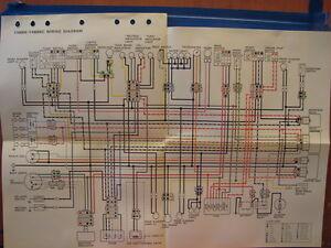 nos yamaha factory wiring diagram 1996 yx600 s yx600 sc ebay rh ebay com yamaha radian 600 wiring diagram yamaha yx600 radian wiring diagram