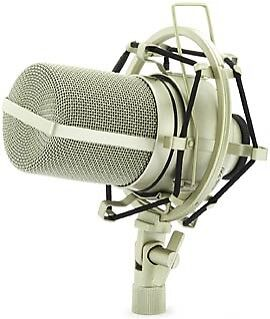 MXL 990 Condenser Microphone with Shockmount FREE XLR Cable 20 FT