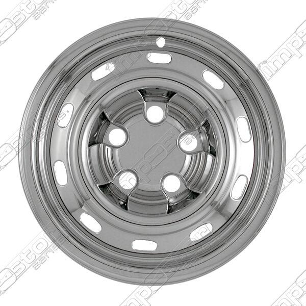 """Set of chrome wheel covers for 2004-2011 Dodge Ram 1500 trucks 17""""  Imp-61x"""