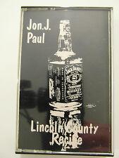 Jon J. Paul - Lincoln Country Recipe - Album Cassette Tape, Used Very Good