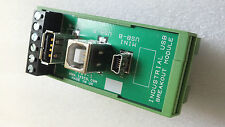 Industrial USB mini Breakout Module - DIN Rail Mounting - Panel Builders Build