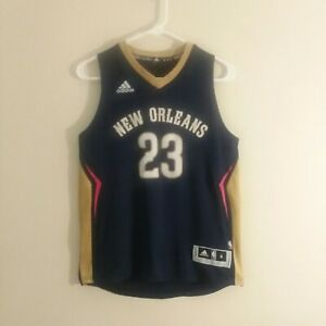 factory authentic 01ce5 b6857 Details about Adidas New Orleans Pelicans Jersey Anthony Davis 23 Swingman  NBA Youth Medium