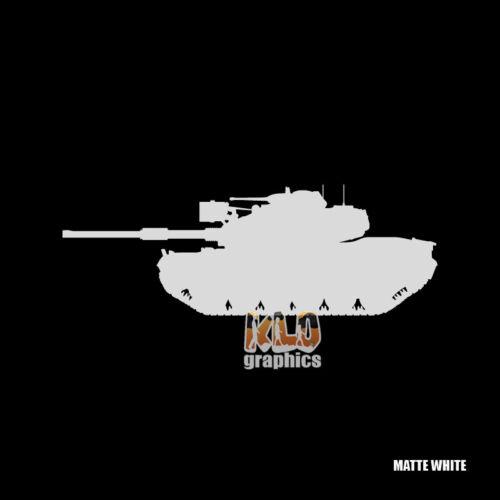 M60 PATTON DRIVER GUNNER LOADER COMMANDER Vinyl Sticker TANK CREW Army Marines
