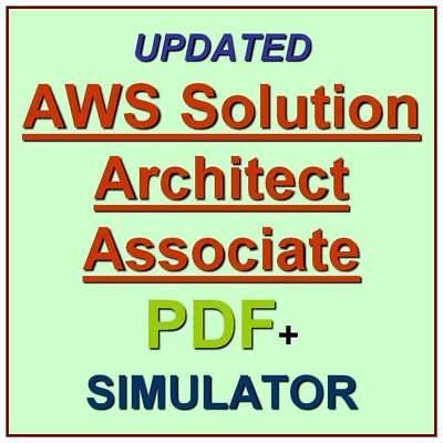 Amazon AWS Certified Solutions Architect Associate Exam Test QA PDF+Simulator