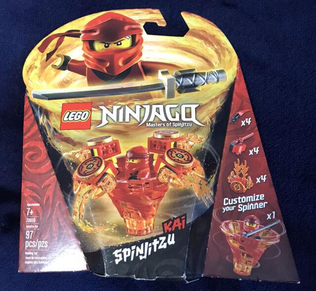 Ninjago New SPINJITZU KAI LEGO 70659