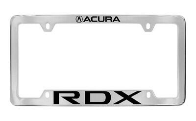 Acura Rdx Logo Engraved Chrome Plated Metal License Plate