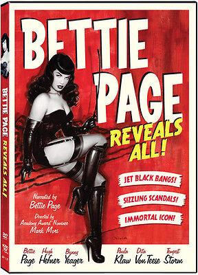 Bettie Page Reveals All DVD Region 1, NTSC