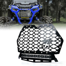 Front Mesh Grill with LED Light Bar for 2014-2017 Polaris RZR 900