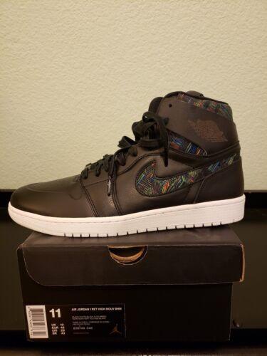 11 Air Nouv Retro Jordan Alto Bhm 1 Ds I Nike Negro vOfCqC