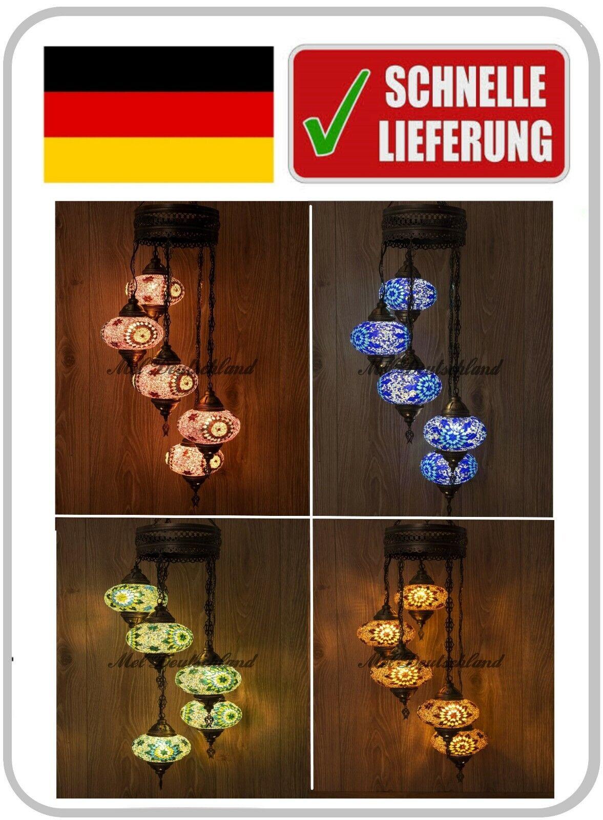 Hängelampe Deckenlampe Orientalische Mosaik Handgefertigte  XXL Gr.Deko Boho