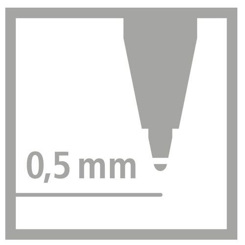 Pack of 3 Blue Medium STABILO EASYoriginal EASY Start Refill Ink Cartridges