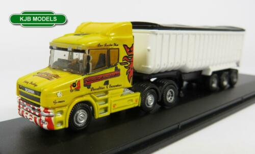 BNIB N GAUGE OXFORD DIECAST 1:148 NTCAB004 SCANIA T CAB TIPPER METRO DEMOLITION
