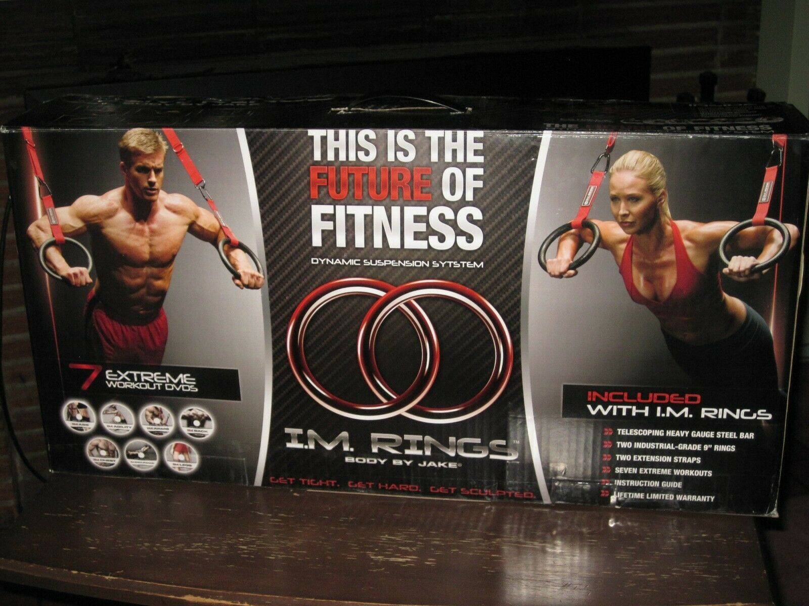 BODY BY JAKE I.M. RINGS DYNAMIC SUSPENSION SYSTEM -- NEW -- FREE SHIPPING