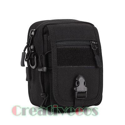New Men Nylon Travel Hiking Shoulder Messenger Belt Fanny Pack Bag Waist  Pouch
