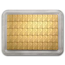 50x 1 gram Gold Valcambi CombiBar - SKU #74946