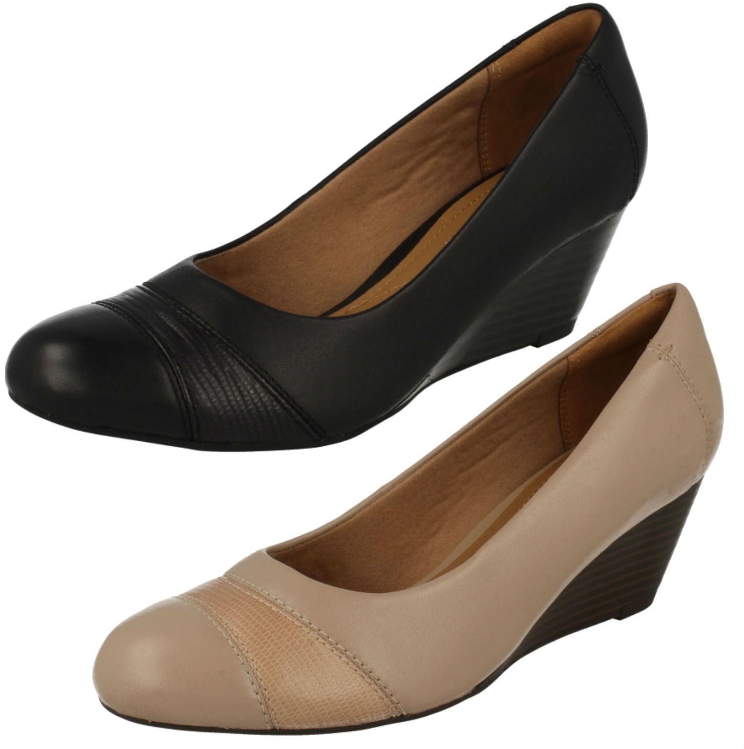 Femmes Clarks Et Talon Compensé chaussures  Brielle Tacha