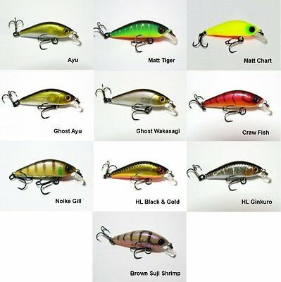 Details about  /JACKALL BROS DIVING CHUBBY MINNOW 35 SP 4 colors
