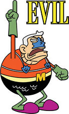 "SpongeBob SquarePants Mermaid Man Cartoon Car Bumper Sticker Decal 3"" x 5"""