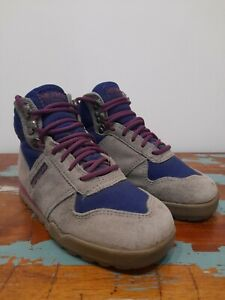 Merrell Scout Womens / Kids Junior Walking Hiking Boots UK 3 Grey Suede Leather