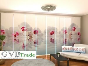Window Treatments & Hardware Home & Garden Fotogardinen Orchid Schiebevorhang Schiebegardinen Vorhang Gardinen 3d Fotodruck