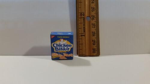 Barbie 1:6 Kitchen Food Miniature Box of Chicken in A Biskit Crackers