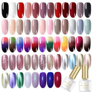 BORN-PRETTY-Nail-Art-UV-Gel-Polish-Soak-Off-Top-Base-Coat-Multi-color-Varnish