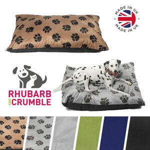 Dog-Bed-Cushion-Pillow-Luxury-Mattress-Puppy-Anti-Chew-Travel-Pet-Washable