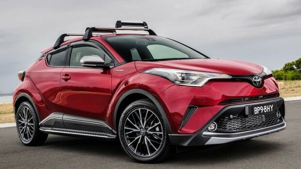 Oem Roof Rack Kit Toyota C Hr 18 19 Pw301 10001 Ebay