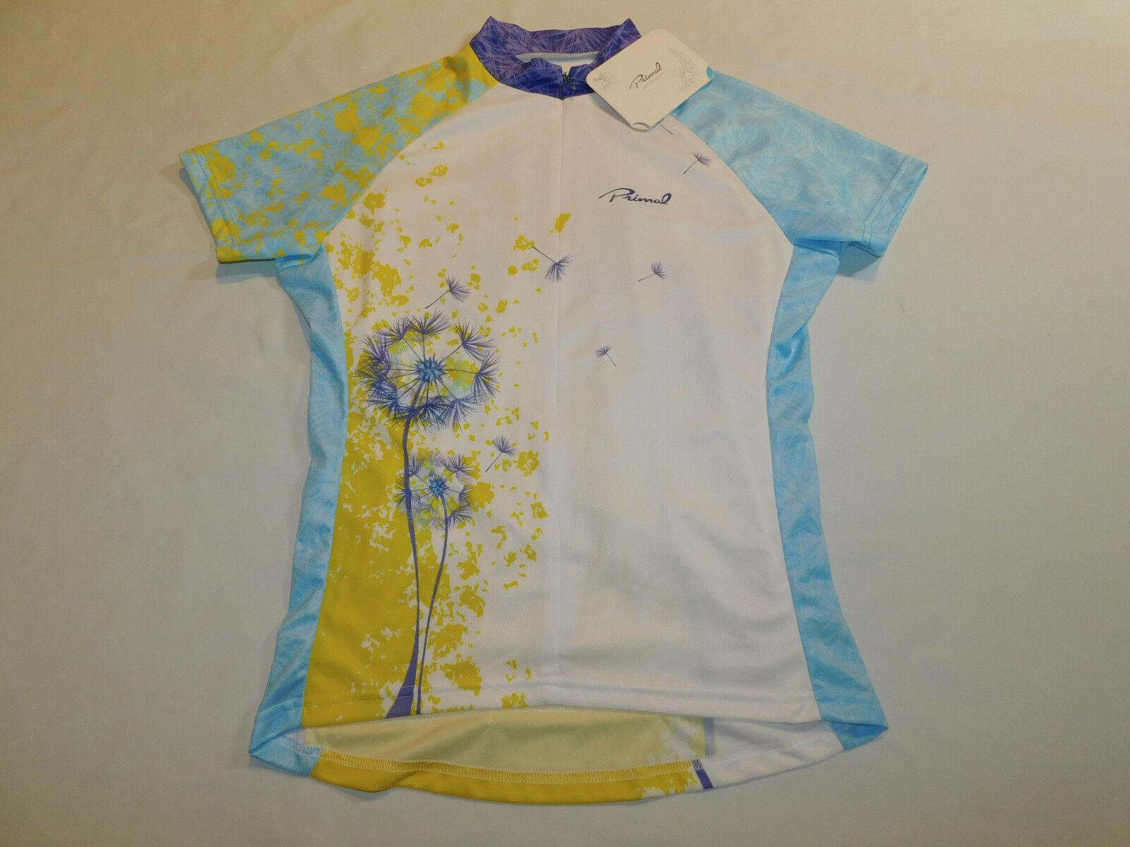NEW PRIMALWEAR PRIMAL WEAR JERSEY BIKE CYCLE PAARDEBLOEM SPORT CUT donna L  70