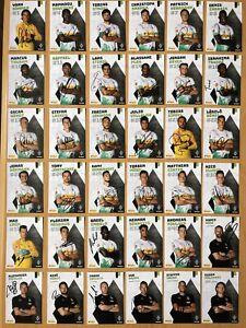 36-Ak-Borussia-Monchengladbach-Cartes-Autographes-2019-20-Original-Dedicace